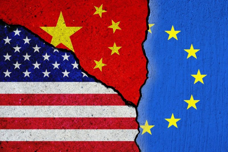 America and Europe Are Split on China. They Must Come Together