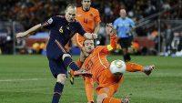 Gol de Iniesta para dar el Mundial de 2010 a España. REUTERS
