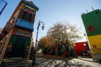 Caminito, la postal del Buenos Aires en la pandemia