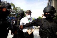 David Munguía Payés, exministro de Defensa y de Seguridad y Justicia de El Salvador fue detenido por pactar con las pandillas en 2012. Credit Rodrigo Sura/EPA vía Shutterstock