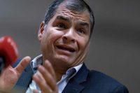 El expresidente ecuatoriano Rafael Correa en octubre de 2019 en Bruselas. Credit Kenzo Tribouillard/Agence France-Presse — Getty Images