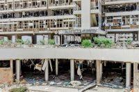 Beyrouth, le lendemain des deux explosions du 4 août. Photo Myriam Boulos