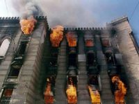 In August 1992, the magnificent Austro-Hungarian building housing the Bosnia Library in Sarajevo was targeted by Serb shelling. More than three-quarters of the collections were destroyed by fire.
