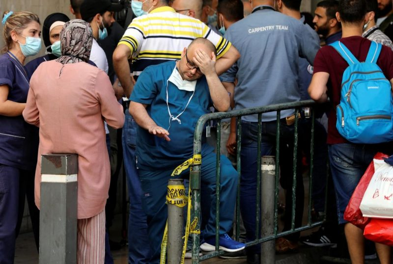 In July, the American University of Beirut laid off hundreds of employees. Credit Mohamed Azakir/Reuters