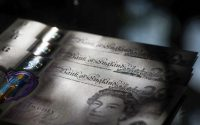 British bank notes. (Chris Ratcliffe/Bloomberg News)