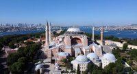 Sainte-Sophie, Istanbul, juin 2020. — © MURAD SEZER/REUTERS