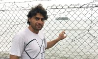 Refugee, artist and musician Farhad Bandesh has been held in immigration detention by Australia for seven years.