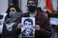 El 3 de septiembre, se organizó una protesta para pedir justicia por Facundo Astudillo Castro, quien fue visto por última vez detenido por la policía bonaerense. Credit Juan Mabromata /Agence France-Presse — Getty Images