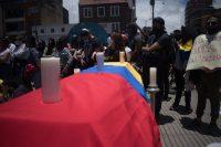 Manifestación contra la violencia policial en Colombia (Bogotá, 13 de septiembre de 2020). Shutterstock / danielr21n
