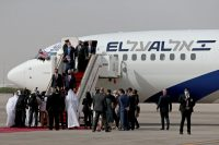 Last week, an Israeli flight made its way from Israel to the United Arab Emirates in what was regarded as a historical journey. Credit Christopher Pike/Reuters