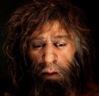 Un neandertal según la interpretación del Museo Neandertal de Krapina (Croacia).Nikola Solic / Reuters