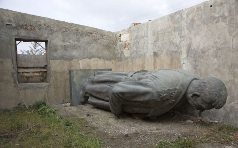 Jodi Hilton/Sports Illustrated/Getty Images An abandoned statue of Stalin that was removed from its central square setting in his hometown in 2010, Gori, Georgia, September 2013