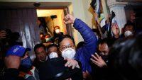Luis Arce, presidente electo de Bolivia, el pasado lunes en La Paz.Juan Karita / AP