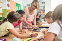 Clase de Tecnología en una escuela de Barcelona.xavierarnau/GETTY IMAGES / Getty Images