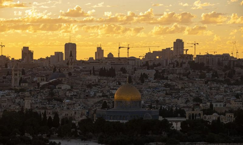 A view of Jerusalem: the Israel/UAE agreement 'threatens the status of Jerusalem's holy sites'. Photograph: Anadolu Agency/Getty Images