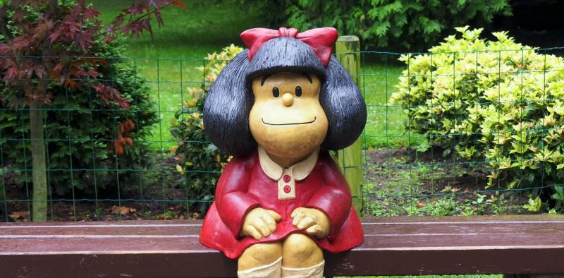 Mafalda: la filósofa que ama a los Beatles y odia la sopa