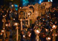Conmemoración de los jesuitas asesinados en San Salvador, en 2015.Oscar Rivera / EFE