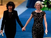 Emmanuelle Charpentier, left, and Jennifer Doudna may have made the most important biological advance since the discovery of the structure of DNA. Credit Miguel Riopa/Agence France-Presse — Getty Images