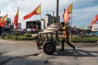 A Mekele, dans le Tigré, le 9 septembre 2020. Photo Eduardo Soteras. AFP