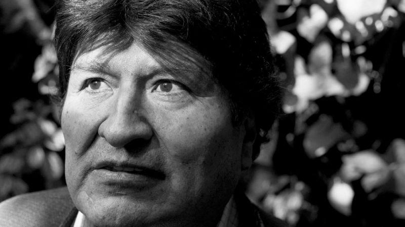 Moises Saman/ Magnum Photos  Evo Morales, Mexico City, November 2019