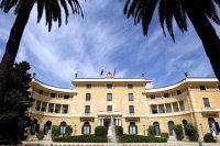 El Palau de Pedralbes, sede de la Unión por el Mediterráneo. TEJEDERAS