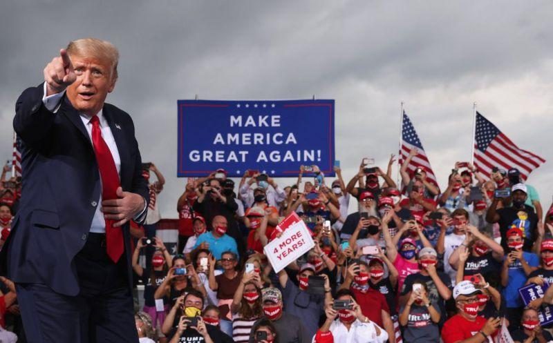El presidente Trump, en un acto en Carolina del Norte.Jonathan Ernst / REUTERS