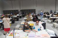 Por qué las encuestaRecuento de boletas en Georgia. Credit Megan Varner/Getty Images.s fueron un desastre