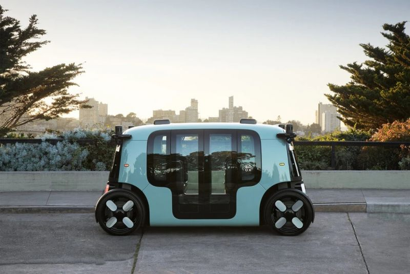 The Amazon-owned company Zoox wants to make robo-taxis a thing. Credit Zoox