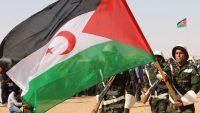 Tropas saharauis con la bandera de la RASD.Servicio Ilustrado (Automático) / Europa Press