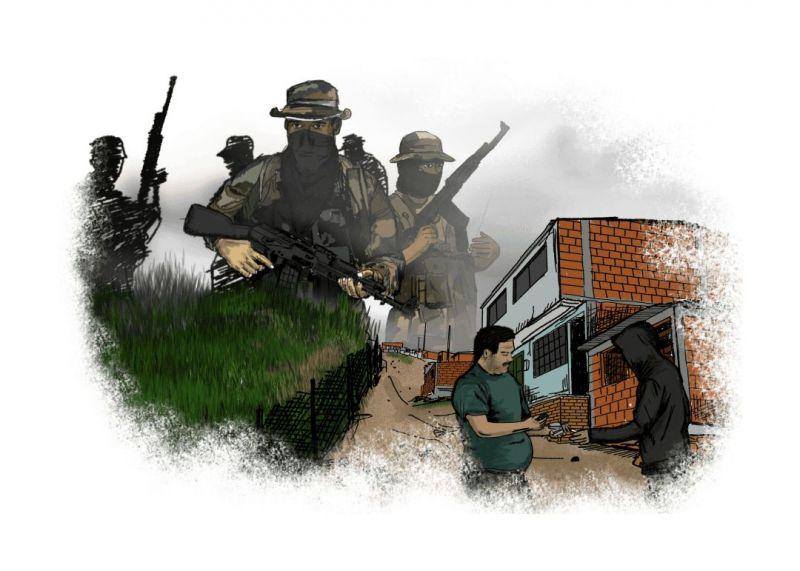 Un refugio de la violencia en un rincón olvidado de Colombia
