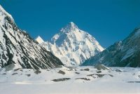 K2, the second highest mountain in the world. Credit De Agostini, via Getty Images