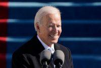 El presidente de Estados Unidos, Joe Biden, en su discurso inaugural el 20 de enero. Credit Patrick Semansky/Agence France-Presse vía Pool/Afp vía Getty Images
