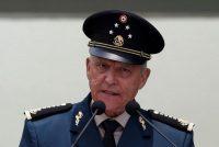 El general Salvador Cienfuegos, exsecretario de Defensa durante el gobierno de Enrique Peña Nieto, ha sido motivo de tensión entre México y Estados Unidos. Credit Carlos Jasso/Reuters