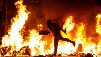 Disturbios en Barcelona. EFE Barcelona