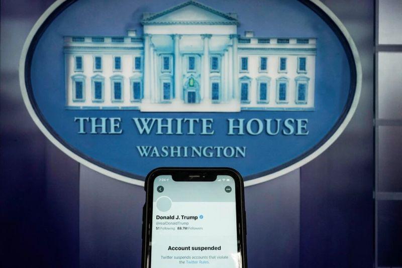 Twitter suspendió la cuenta del presidente de Estados Unidos, Donald Trump. Credit Joshua Roberts/Reuters