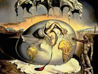 Niño geopolítico mirando el nacimiento del hombre nuevo (Salvador Dalí, 1943)