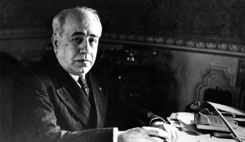 El presidente de la República Manuel Azaña.
