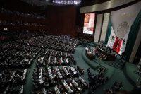 El Congreso de México en 2018. Credit José Méndez/EPA vía Shutterstock
