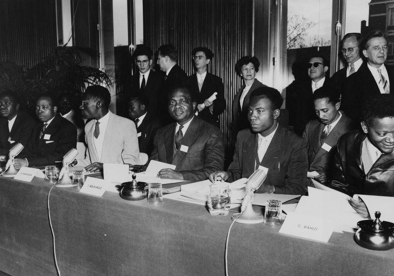 Table des délégués Congolais