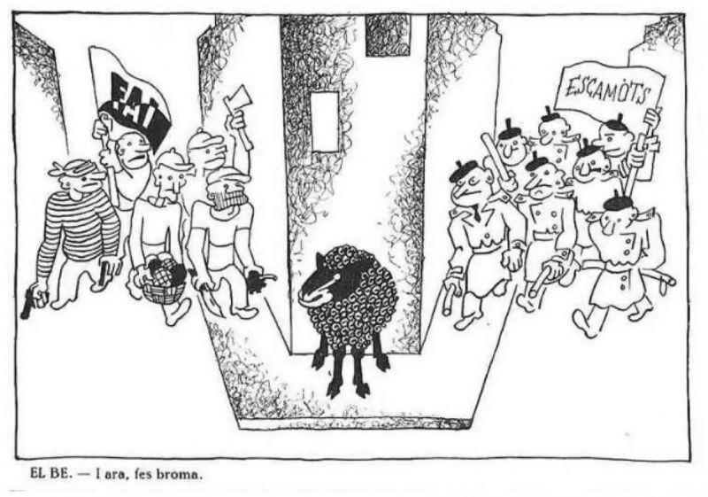 Viñeta de 'El Be Negre' de 1933.