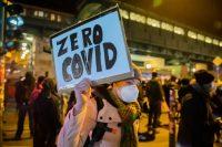 Une manifestation contre les restrictions liées à la pandémie, le 28 janvier à Berlin. (Christoph Soeder/dpa Picture-Alliance via AFP)