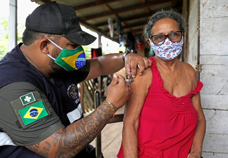 Vaccinating over 210 million people may sound daunting, but for Brazil it really shouldn't be. Credit Bruno Kelly/Reuters