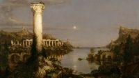 Desolación del Imperio Romano, de Thomas Cole (1836).