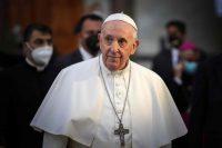 El papa francisco en su visita a Irak en marzo de 2021. Credit Ayman Henna/Agence France-Presse — Getty Images