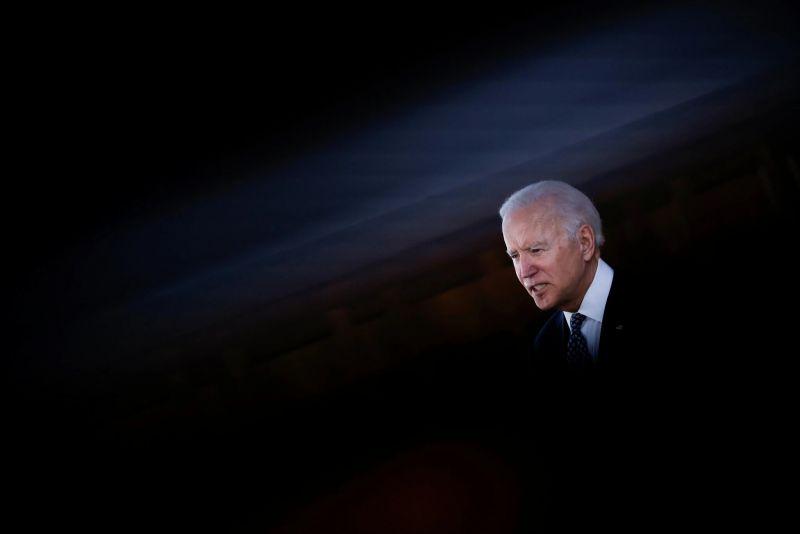 El presidente de Estados Unidos, Joe Biden, en marzo de 2021. Credit Carlos Barria/Reuters