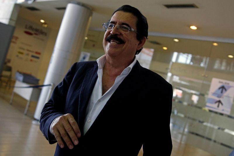 Manuel Zelaya, expresidente de Honduras, en marzo de 2018. Credit Jorge Cabrera/Reuters