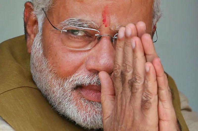 Indian Prime Minister Narendra Modi in 2014. (Saurabh Das/AP)