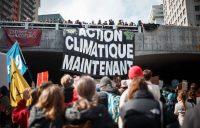 La grande marche pour le climat du 15 mars 2019. Photo: Guillaume Levasseur archives Le Devoir