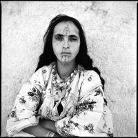 Retrato de una mujer argelina.Marc Garanger