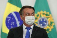 Jair Bolsonaro durante la ceremonia de transmisión del cargo del Ministro Mayor de Estado de la Casa Civil de la Presidencia de la República, Luiz Eduardo Ramos. Foto: Marcos Corrêa.